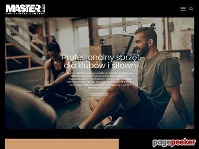 Wyposażenie siłowni - MasterSport. Sprzęt do siłowni, wyposażenie klubu fitness.