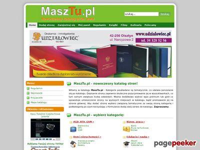MaszTu.pl - nowoczesny katalog stron www