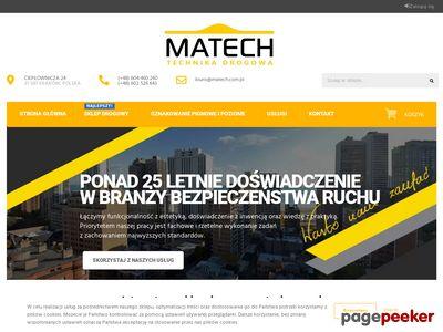 PPUH Matech - technia drogowa, progi zwlaniające