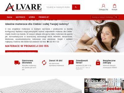 Materace do łóżka | ALVARE