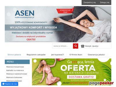 Wygodne materace Wiessen