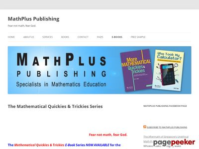 <strong>The Mathematical Quickies &#038; Trickies Series</strong> &#8211; MathPlus Publishing