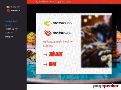 Catering sushi w Lublinie i w Warszawie