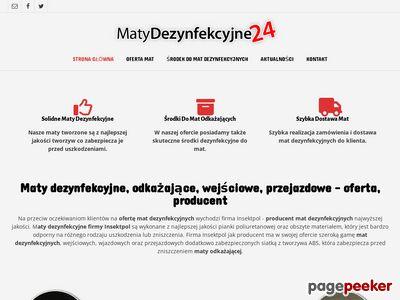 Matydezynfekcyjne24.pl producent mat dezynfekcyjnych