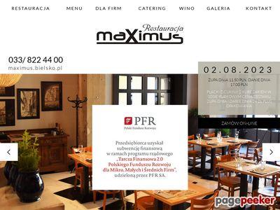 Maximus - Restauracja, Catering Bielsko Biała