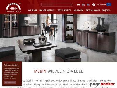 Mebin - Producent Mebli Stylowych