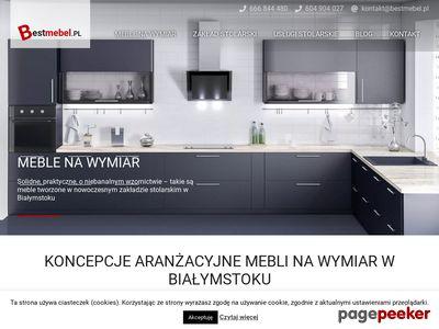 Meble na wymiar Poznań - Dobry Stolarz