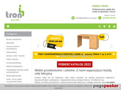 Mebletron.com.pl | stoły szkolne