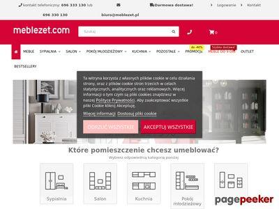 Meblezet - internetowy sklep meblowy