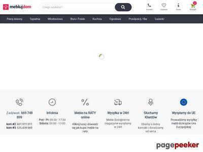 MeblujDom.pl - sklep meblowy