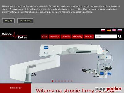 Medical-Elektro.pl - używany sprzęt medyczny