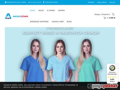Medicstar - bluzy medyczne