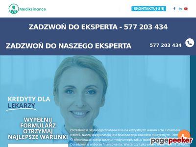 Kredyty dla lekarzy Poznań