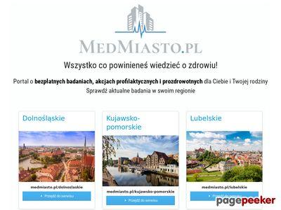MedMiasto.pl - regionalny portal medyczny