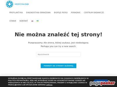 Rak piersi Szczecin