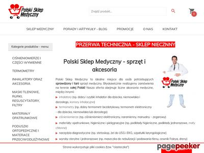 Polski sklep medyczny - ciśnieniomierz