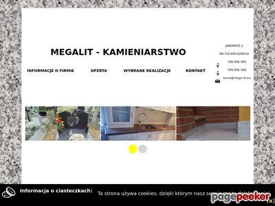 Megalit - Kamieniarstwo Kruszwica