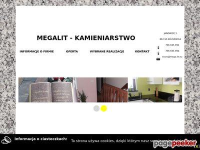 Megalit - parapety granitowe Inowrocław