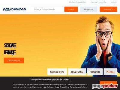 Megima.pl - pieczątki - tanio