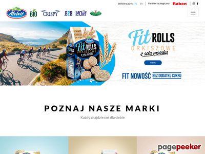Melvit.pl - producent płatków owsianych