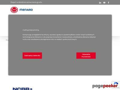 Menard Polska Sp. z o.o. pale fundamentowe