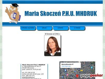 MHDruk Maria Skoczeń