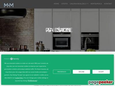 Kuchnie na wymiar Gdańsk MHM