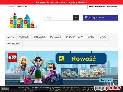 Miasto Zabawek sklep internetowy z artykułami dla dzieci