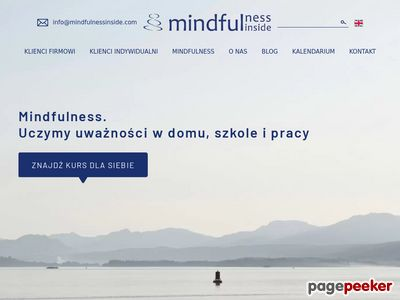 Mindfulness Inside - szkolenia i warsztaty
