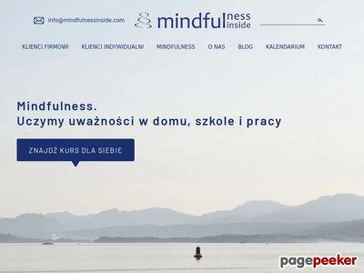 Szkolenia - Mindfulness