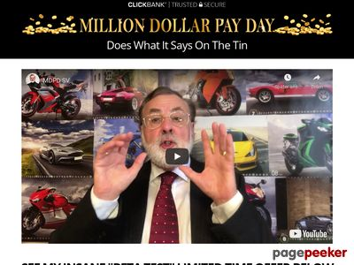 Million Dollar Pay Day CB – Mind Power Riches
