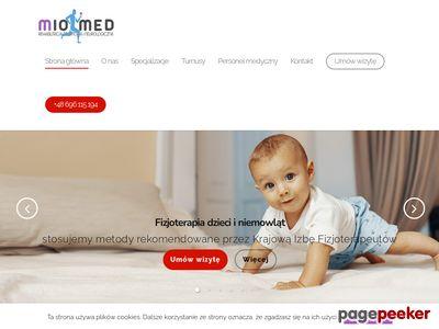 Miomed - rehabilitacja dzieci Gdańsk