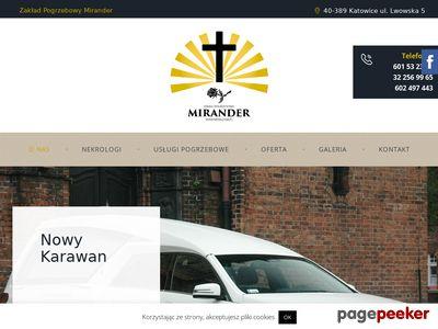 Mirander.com.pl - usługi pogrzebowe Katowice