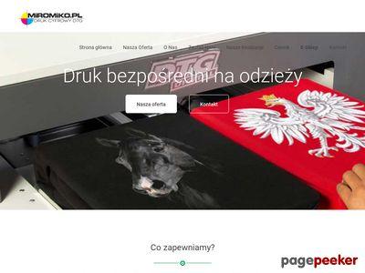 Koszulki własny nadruk Warszawa