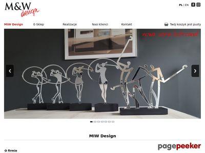 M&W DESIGN statuetki