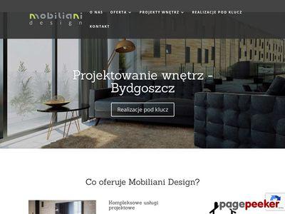 Projektowanie wnętrz - Mobiliani Design Bydgoszcz