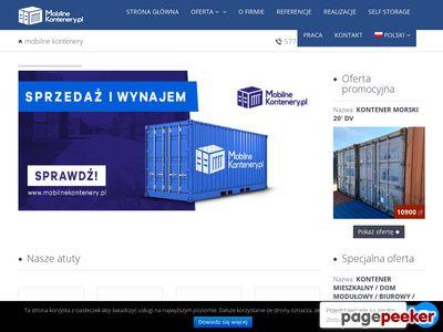 Kontenery produkcja sprzedaż wynajem - Mobilne Kontenery . pl
