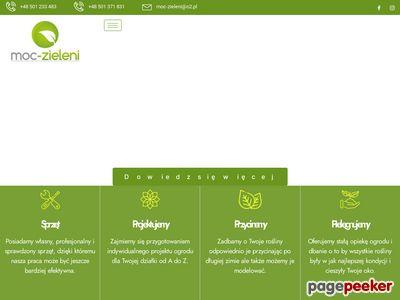 MOC-ZIELENI Urządzanie ogrodów Piaseczno