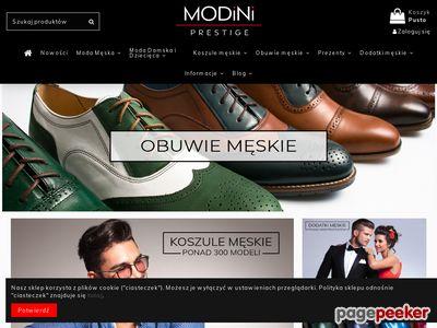 Modini.pl - Sklep z elegancką odzieżą męską
