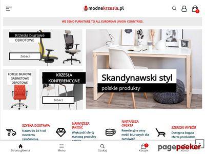 Sklep internetowy Modne Krzesła