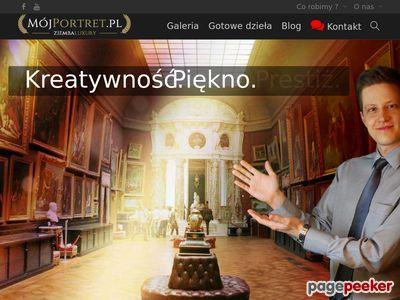 Więcej o stronie : Portrety na zamówienie - mojportret.pl