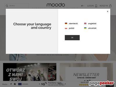Butik online moodo.pl - sklep z odzieżą damską