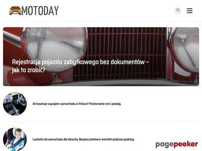 Www.MotoDay.pl ? Blog o samochodach