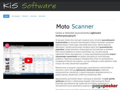 MotoScanner.pl ogłoszenia motoryzacyjne