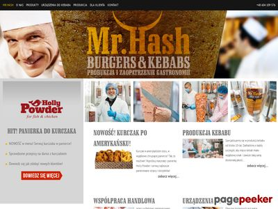 Producent mięsa kebab Mr. Hash