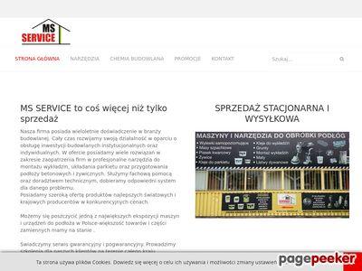 MS-SERVICE - dysze Leister, piasek kwarcowy Warszawa, papiery ścierne