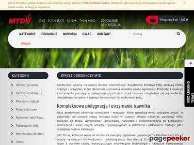 MTD Internetowy sklep ogrodniczy
