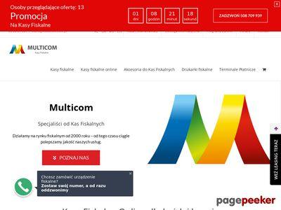 Multicom - kasy fiskalne Rybnik