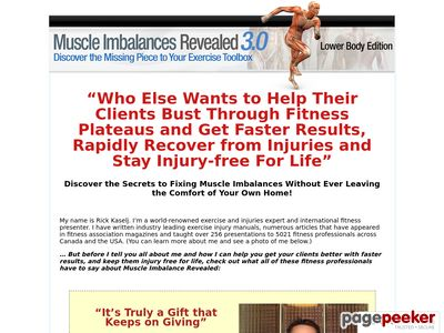 Muscle Imbalances Revealed –