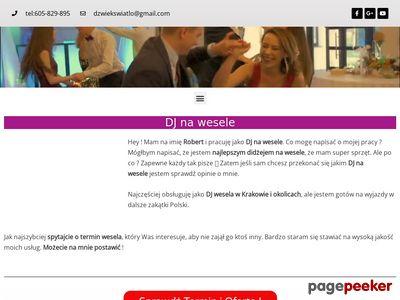 DJ na wesele Robert Koss
